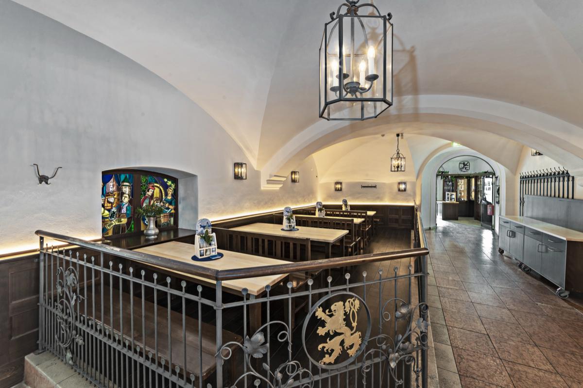 Das Kutschergewölbe im Bräustüberl - Löwenbräukeller München