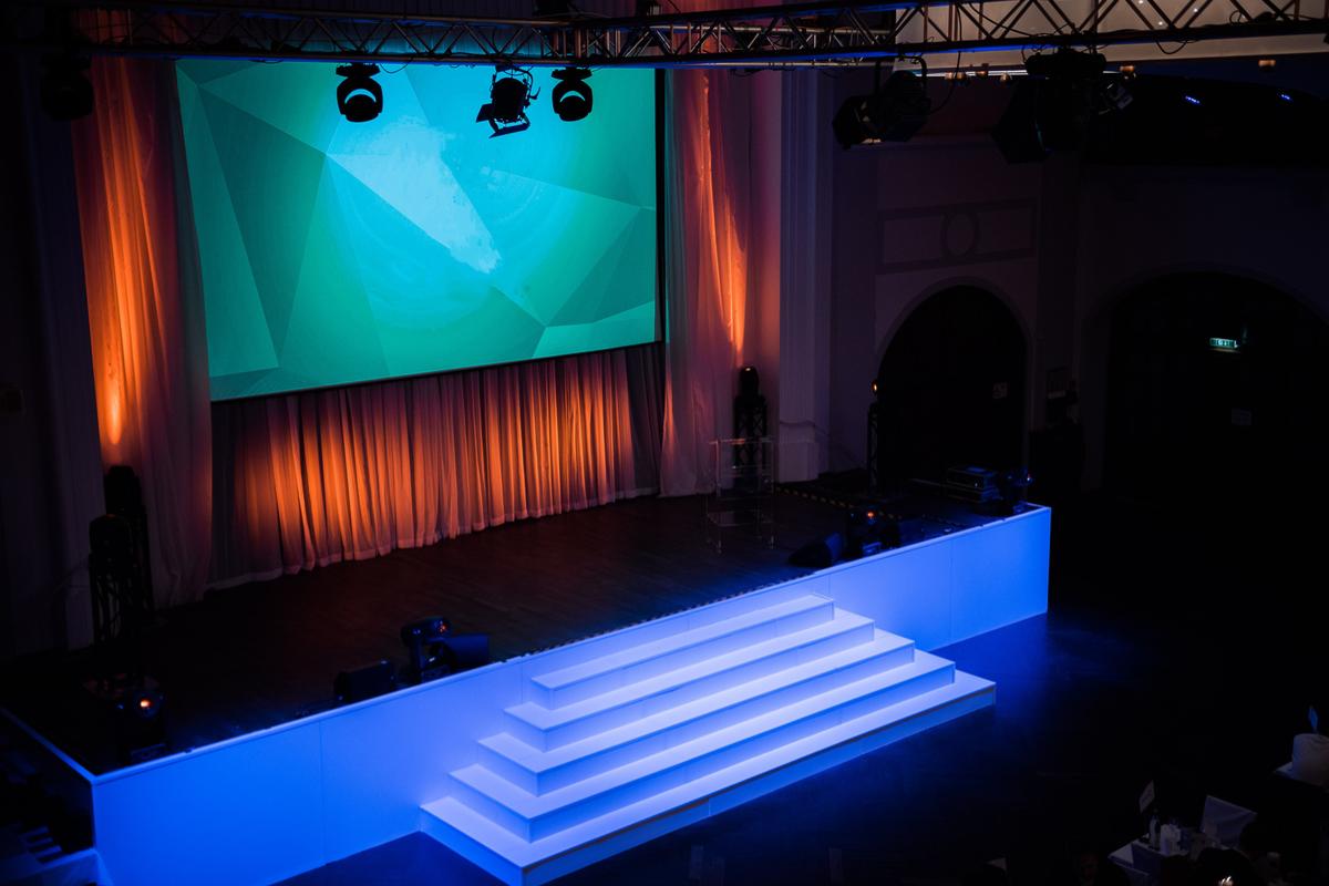 Löwenbräukeller München - Festsaal Bühne