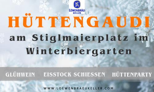 Hüttengaudi - Löwenbräukeller München