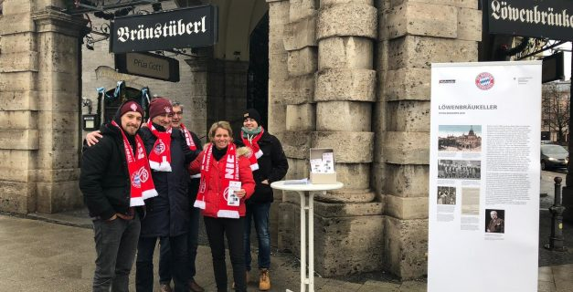 Nie wieder! Veranstaltung im Löwenbräukeller München