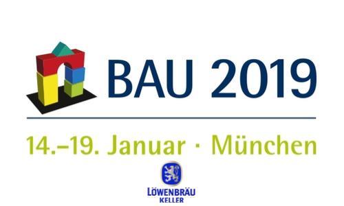 Bau 2019 im Löwenbräukeller München