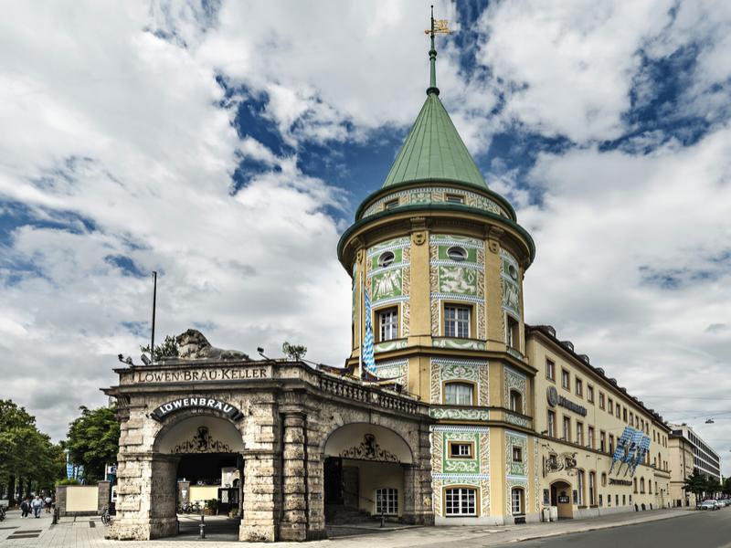 Löwenbräukeller München - Historisches