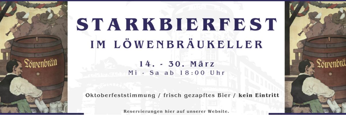 Starkbierfest im Löwenbräukeller München