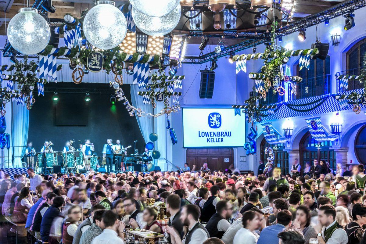 Starkbierfest im Löwenbräukeller München 2019