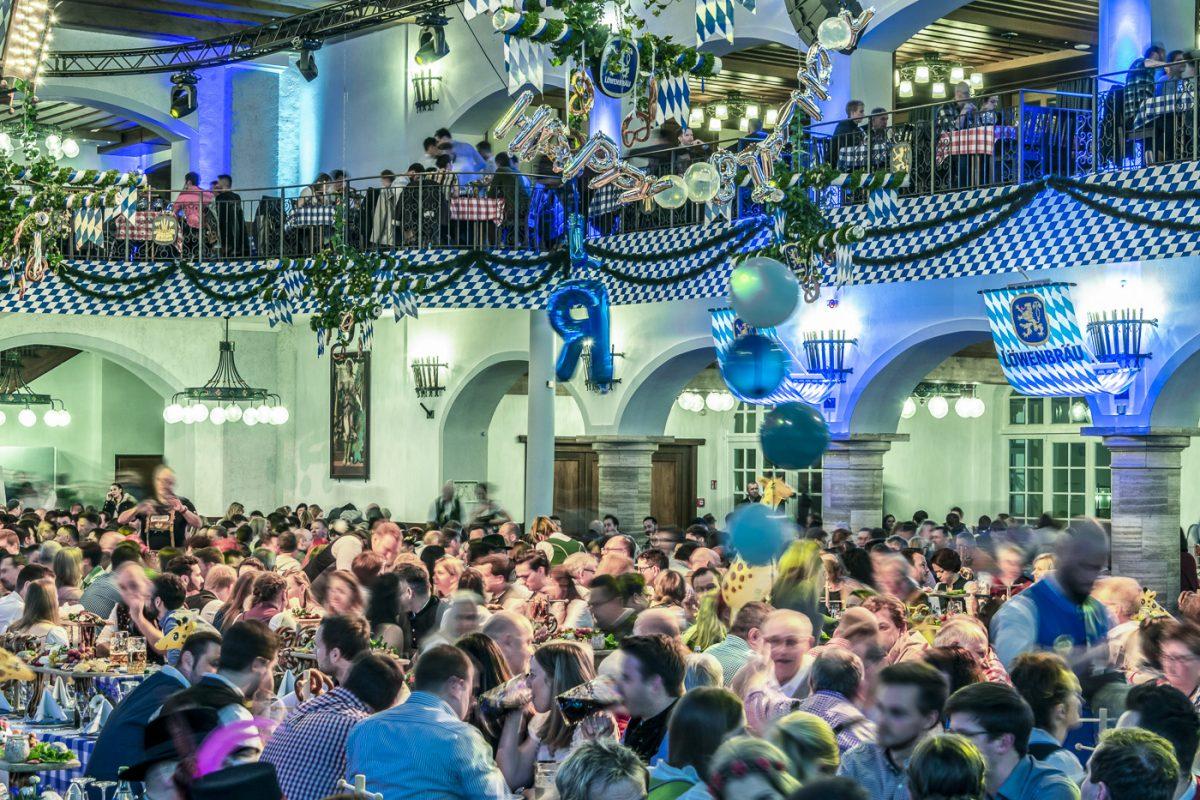 Starkbierfest 2019 - Stimmung im Löwenbräukeller München
