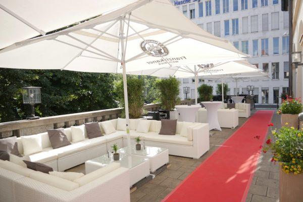 Die Caipi Club Lounge im Löwenbräukeller