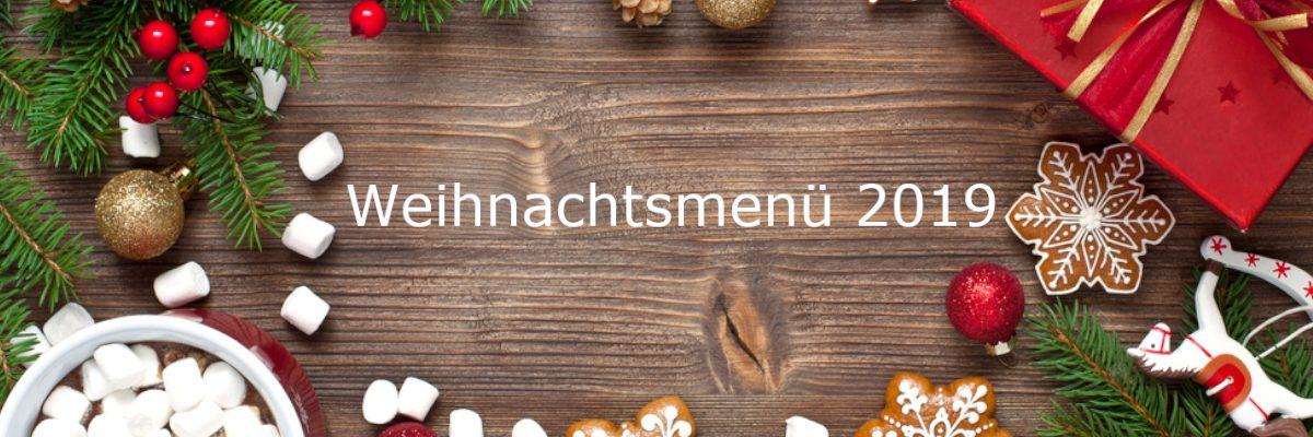 Weihnachtsmenü im Löwenbräukeller München