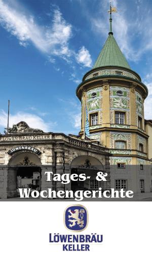 Wochenkarte Löwenbräukeller München