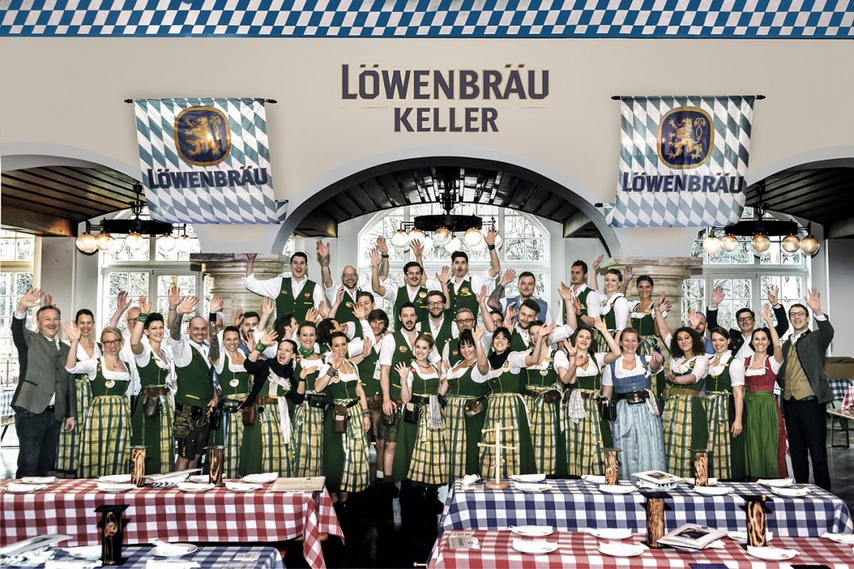 Stark-Bier-Fest Löwenbräukeller Munich 1