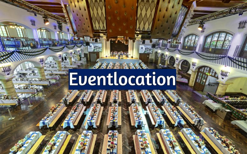 Eventlocation im Löwenbräukeller