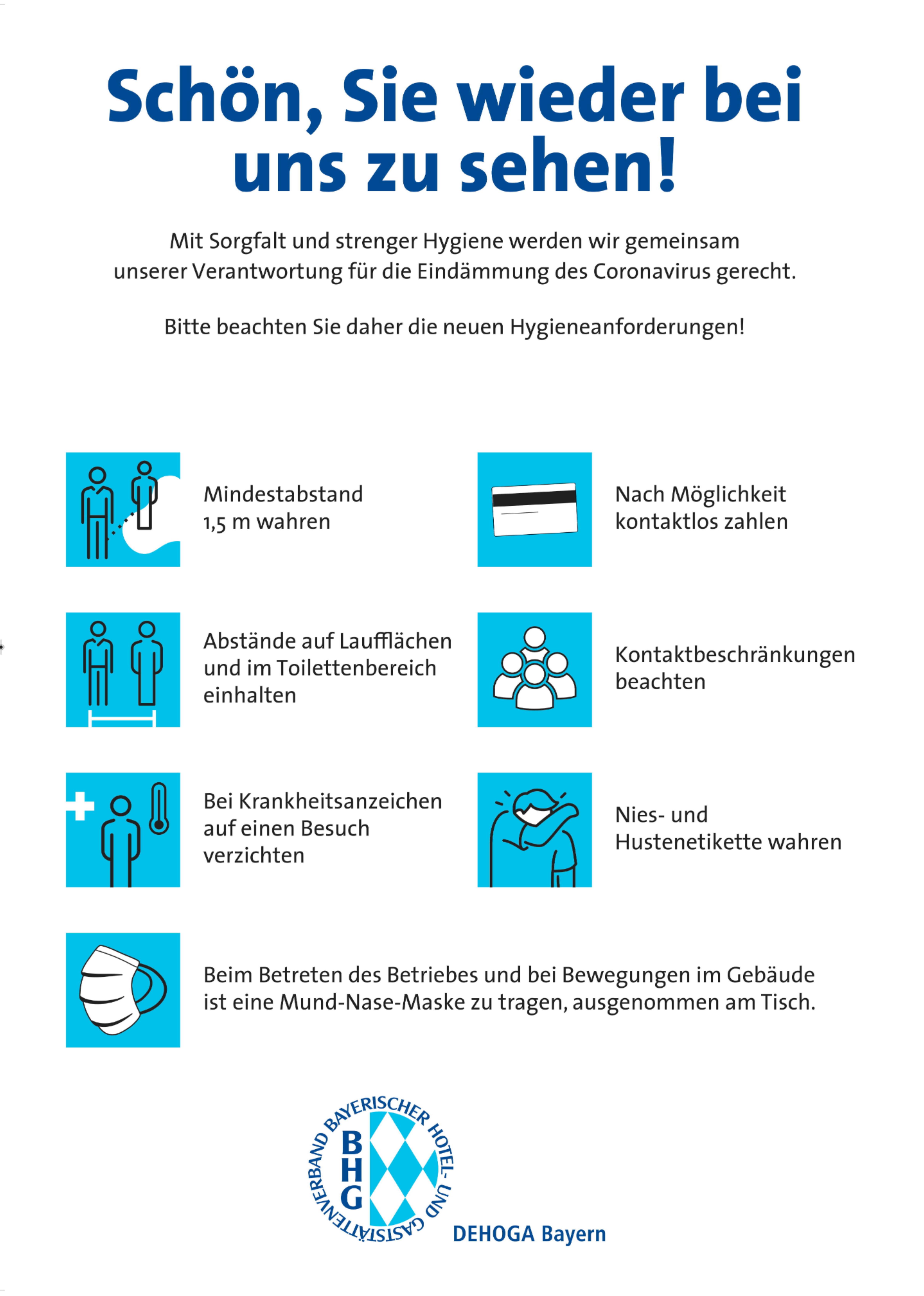 Corona Richtlinien Löwenbräukeller München